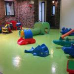 Binnenspeelplaats - Kleurkrijtjes